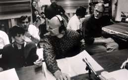 Assisting Bob Woods on a Cincinnati Pops session, Erich Kunzel conducting with engineer Jack Renner circa 1988