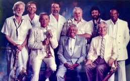 Recording Big Band Hit Parade with Gerry Mulligan, Ed Shaughnessy, Doc Severinsen, Erich Kunzel, Cab Calloway, Buddy Morrow, Eddie Daniels, Dave Brubeck and Ray Brown,  and the Cincinnati Pops 1988
